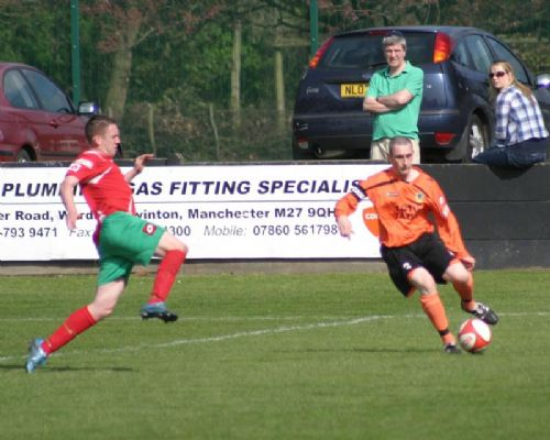 Click to view Salford City 1 Harrogate Railway 1