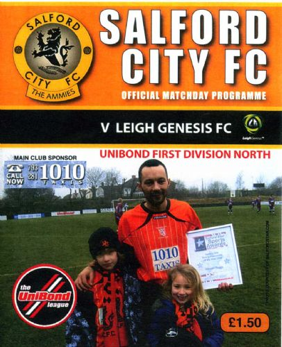 Click to view Salford City 3 Leigh Genesis 3