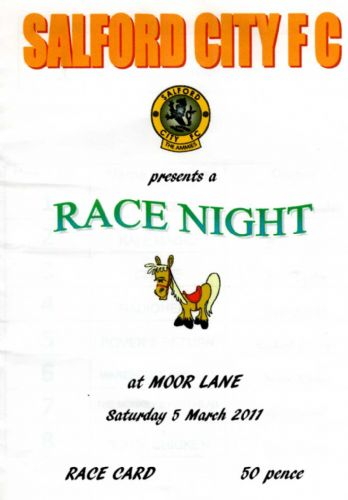 Click to view Salford City Race Night