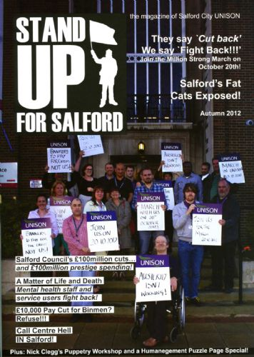 Click to view Salford City UNISON magazine issue 2