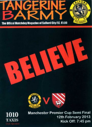 Click to view Salford City 1 Droylsden 0
