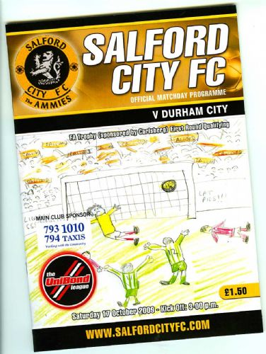 Click to view Salford City v Durham City FA Trophy