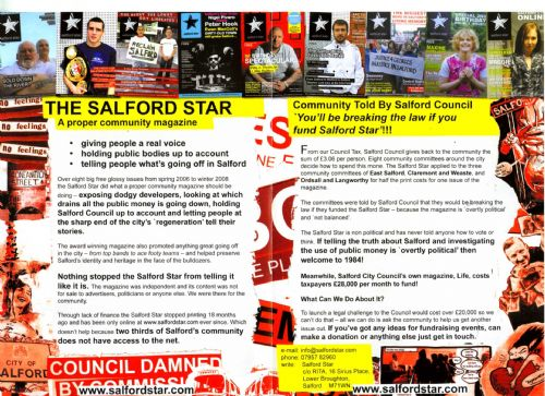 Click to view Salford Star Flyer