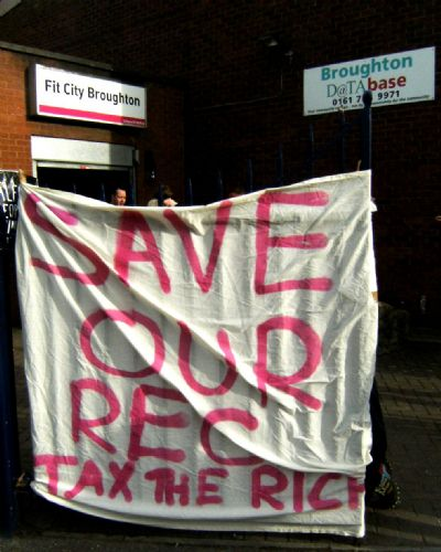 Click to view Save Broughton Rec Demo Salford