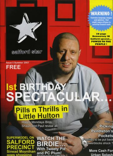 Click to view Shaun Ryder Salford Star