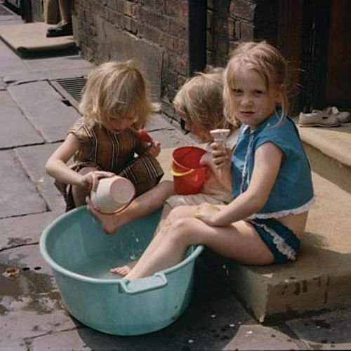 Click to view Shirley Baker: Women and Children; and Loitering Men