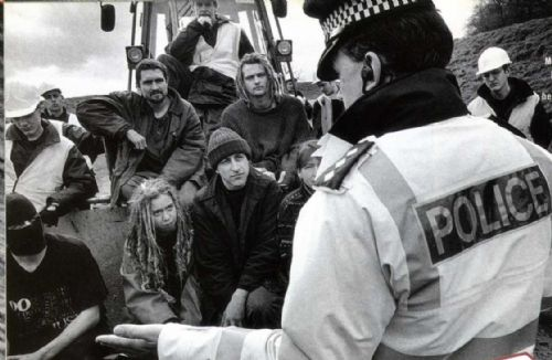 Click to view Manchester Airport Protest Camp 1991