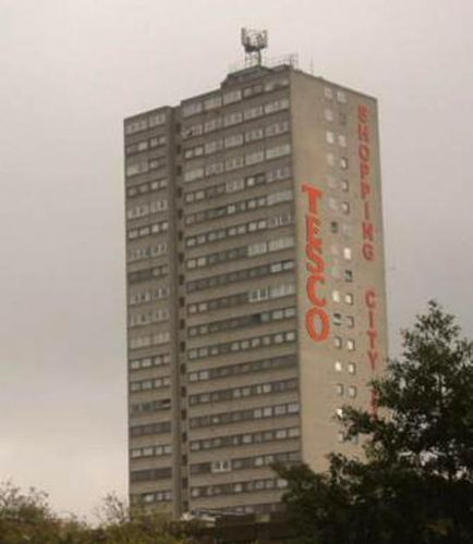 7ed7a14f It was less than two months ago that Salford Council gave planning  permission for the new controversial Tesco megastore by Salford Precinct,  ...
