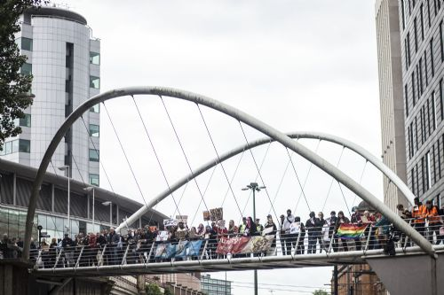 Click to view Manchester 'March Against Hate'