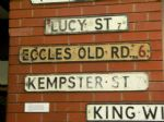 A-Z OF LOST SALFORD STREETS