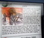 Irwell Valley Miners Info Board Salford