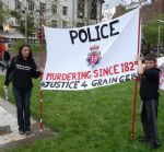 Anthony Grainger Fathers Day Protest June 2012