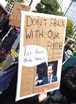 Tories told to `Frack Off' at Conservative Party Conference