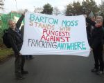 Barton Moss Anti Fracking Rally Salford