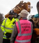 Barton Moss Anti Fracking Protest
