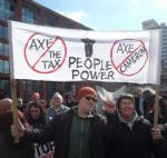 GREATER MANCHESTER PROTESTS AGAINST BEDROOM TAX