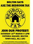 Bolton Bedroom Tax Protest