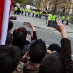 Chinese President and David Cameron visit Manchester Town Hall