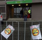 Eccles Job Centre Universal Credit Protest
