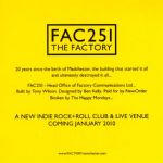 FAC251 THE FACTORY