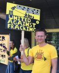 Frack Free Greater Manchester court protest