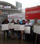 Labour Party Conference Demo