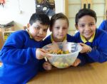 Lower Kersal Primary School gets Food Smart with Amanda Ursell