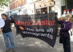 THE DAILY MAIL HATES BRITAIN PROTEST MANCHESTER