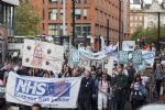 NHS Protest at Tory Party Conference