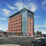Artists Impression of New Bailey Hotel
