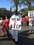 Peel Holdings Incinerator Protest