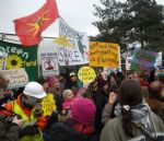 Barton Moss IGas Protests Salford