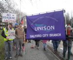 Salford Anti Fracking Solidarity Day