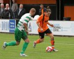 Fernandez Oriol takes on the Vics Defence