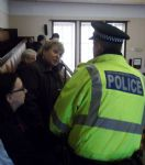 Salford Anti Cuts Protesters Ejected from Salford Council Chamber
