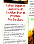 Labour Voice Don't Privatise Article
