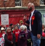 Salford Mayor faces Save The Grange campaigners on May Day