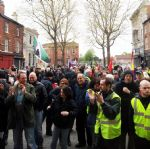 Salford May Day Rally 2012