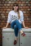 Salford Star White Sweatshirt