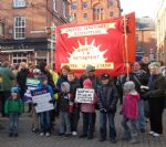 Salford Rally and March November 30th 2011