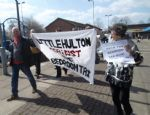 Bedroom Tax Protest Salford