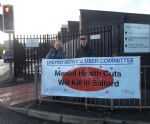 Salford Mental Health Bed Cuts Protests