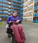 Salford disabled person living hell in Salix Homes flat