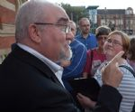Salford City Mayor Ian Stewart Meets The Grange campaigners in Eccles