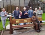 Salford Miners Memorial Unveiled at Swinton Civic Centre