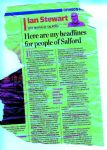 Ian Stewart Salford Mayor Writing in the Manchester Evening News