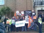 Salford Council Cuts Protest