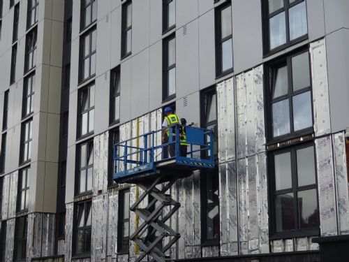 Image result for cladding removal