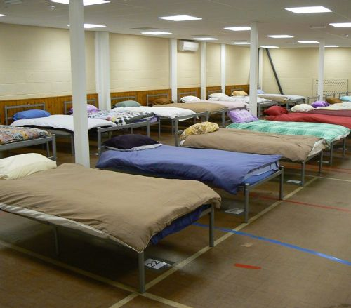 SALFORD HOMELESS OUT ON STREETS AS NARROWGATE SHELTER