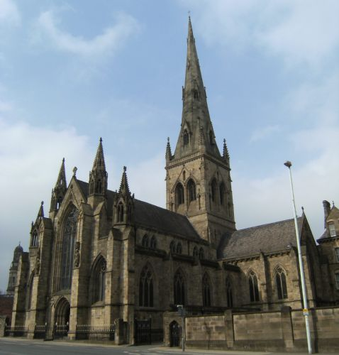 Salford Cathedral: NEW SIGHTSEEING BUS WILL TAKE IN SALFORD 'TOURIST HOTSPOTS